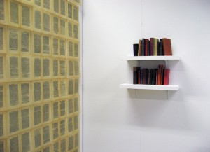 unknown book installation